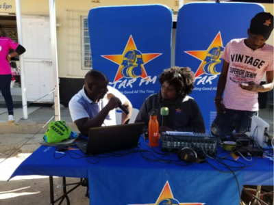 JCT live broadcast interviews on Star FM on JCT work and services and the significance of Day of the African Child in Shona, English and Ndebele